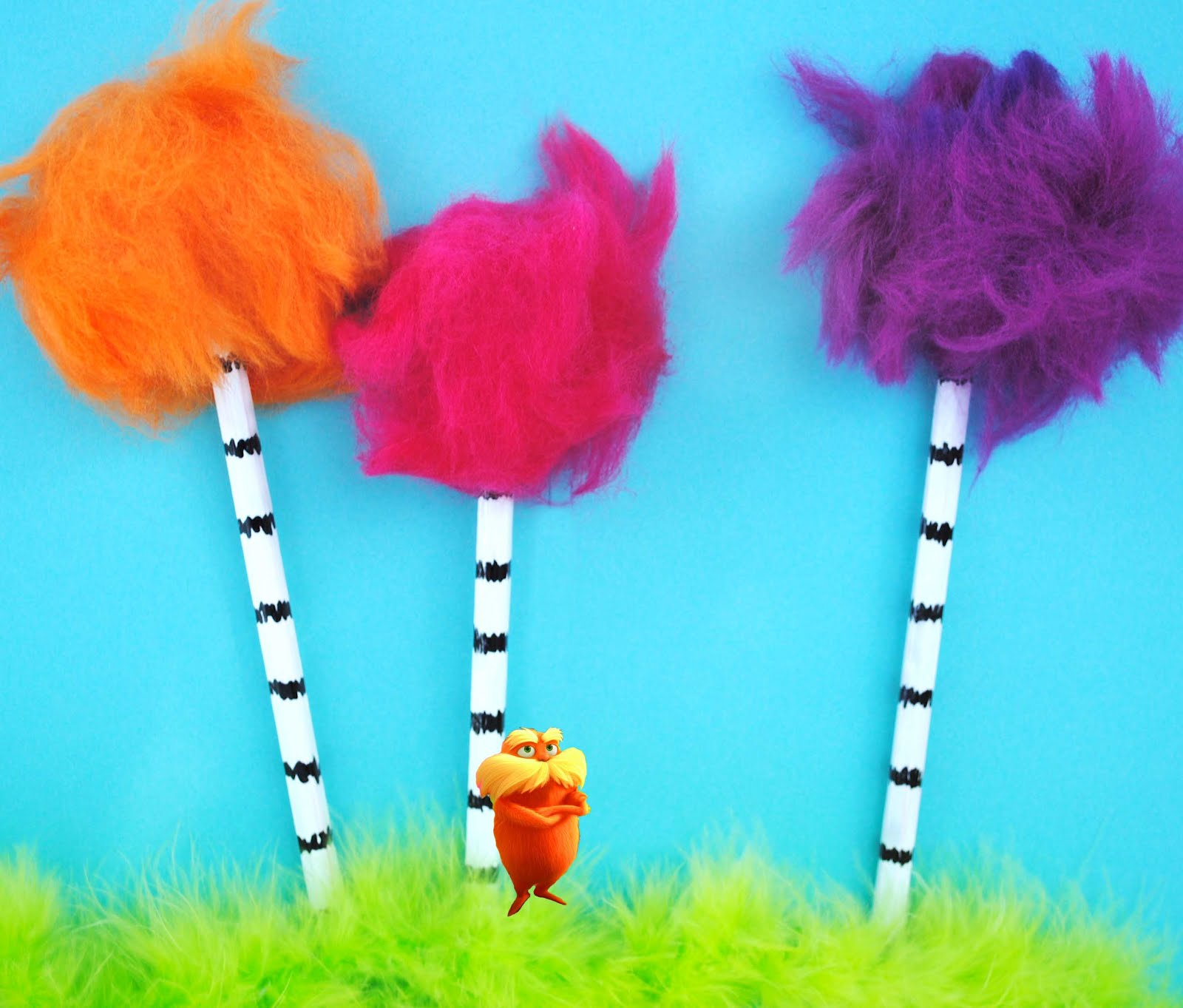 The Lorax Truffula Trees Today i'm participating in the