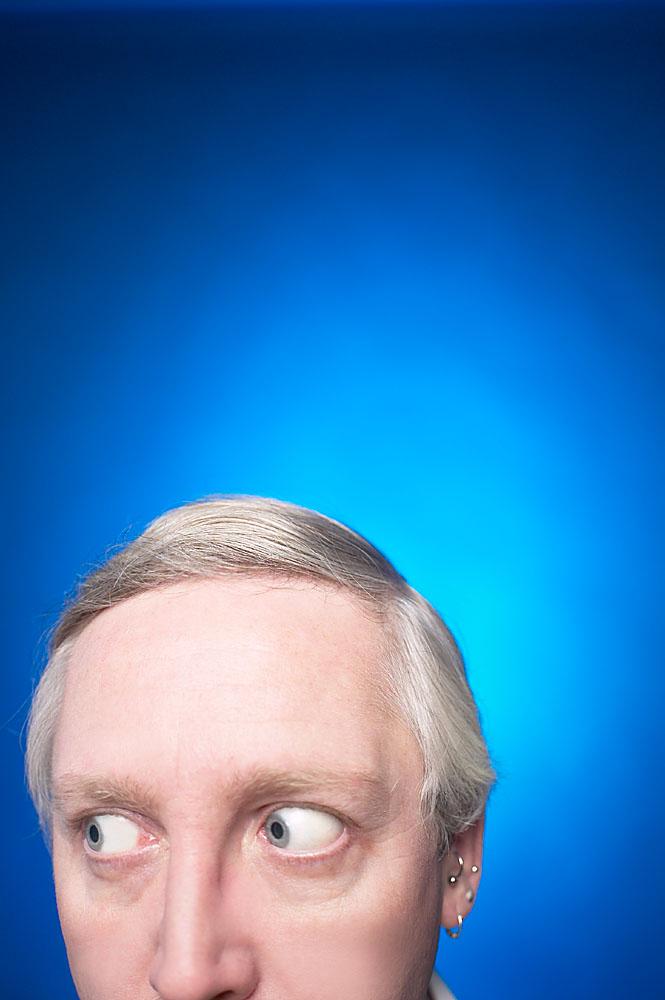 Politiker Maske Putin für Herren Hautfarben Larve russischer Präsident Russland