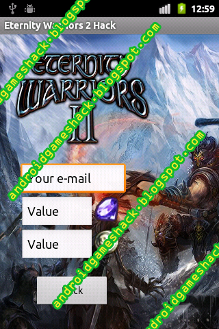 Eternity Warriors 2 Android Apk Hack Coins and Diamonds | vandroid
