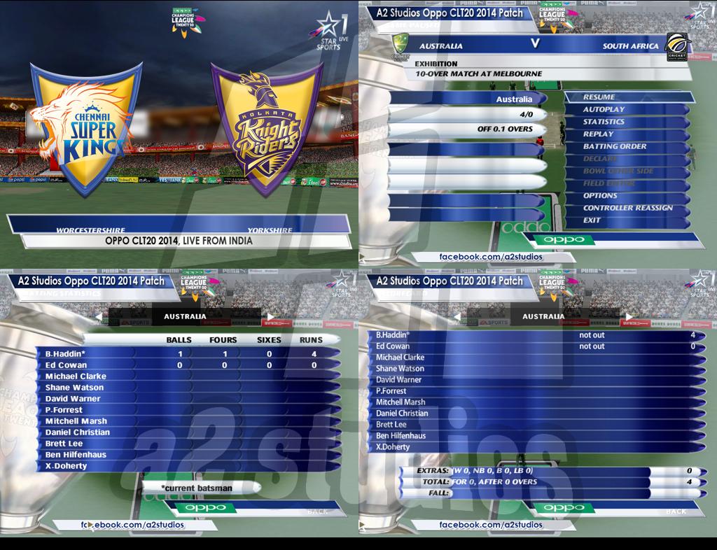 a2studios clt20 overlay and menu