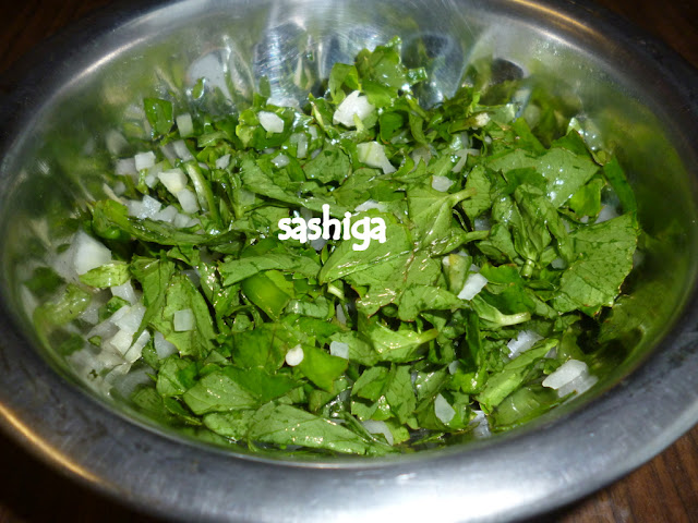 Vallarai Keerai Salad