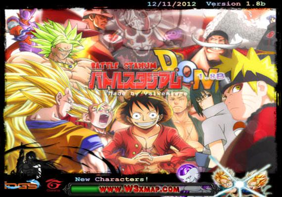 [Map] BattleStadium DON 1.8b (Dragon Ball, One Piece, Naruto)