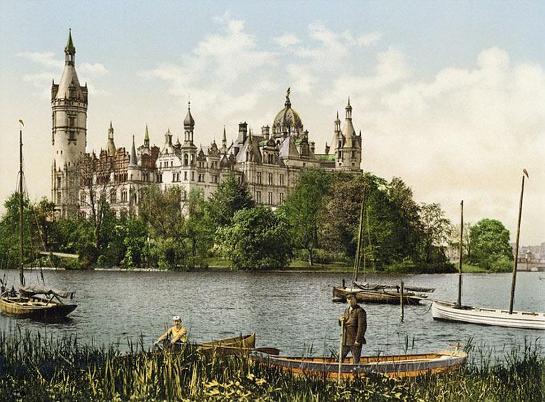 Raras fotos en color de Alemania en 1900 antes de que fuera destruido por las guerras mundiales