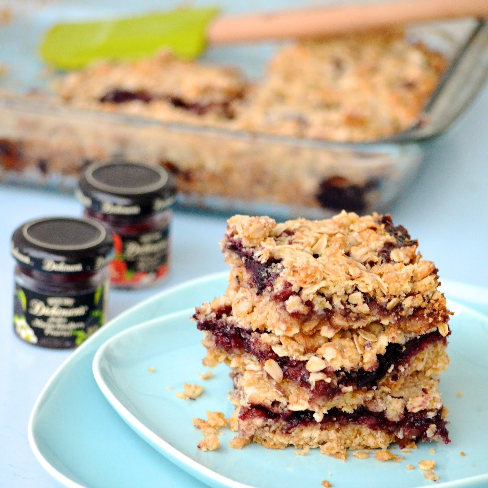 Obsessive Cooking : Raspberry Oatmeal Bars