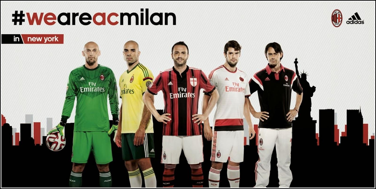AC Milan 14-15 Away Kit