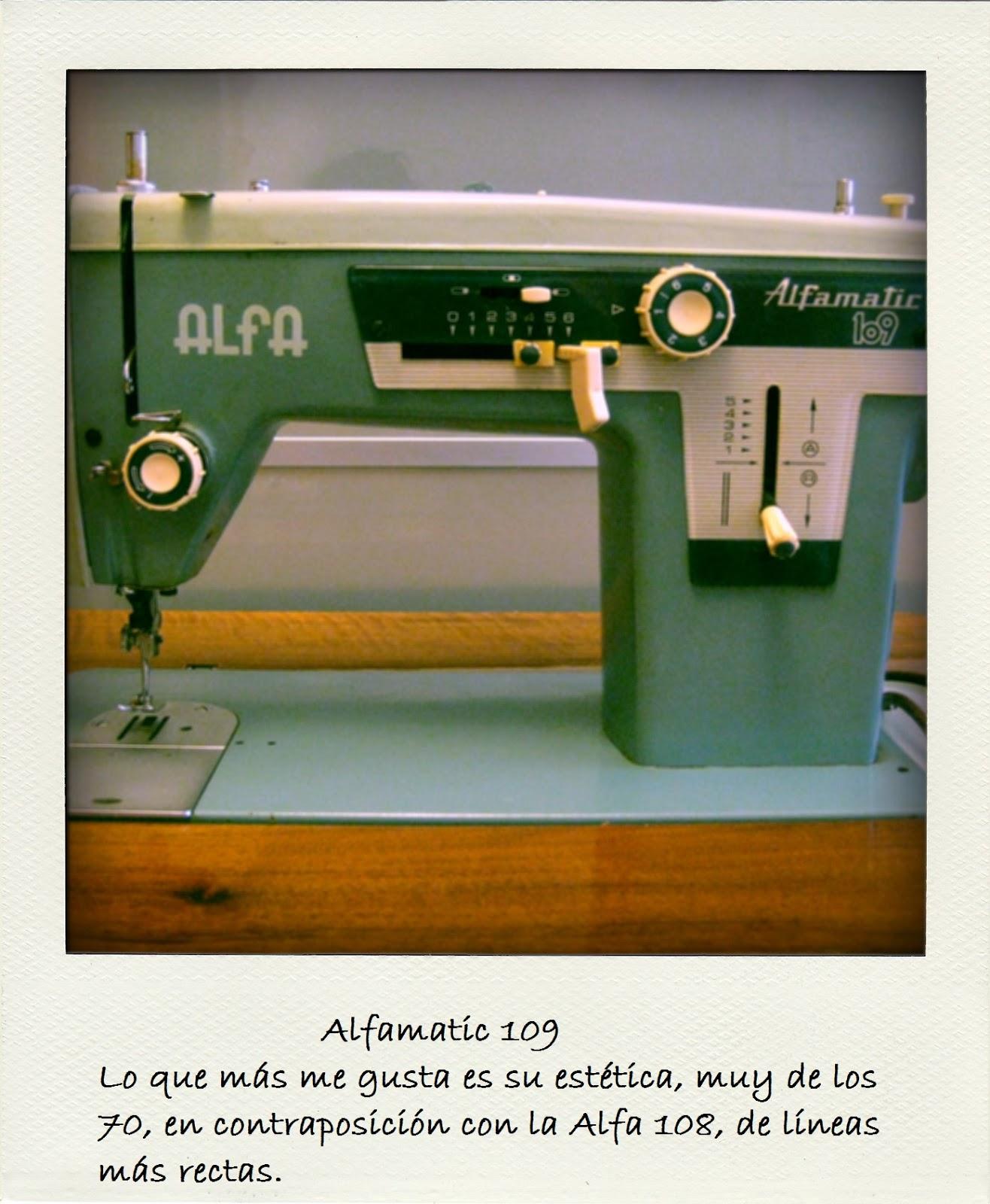 Alfamatic aprende a coser: Alfamatic 109