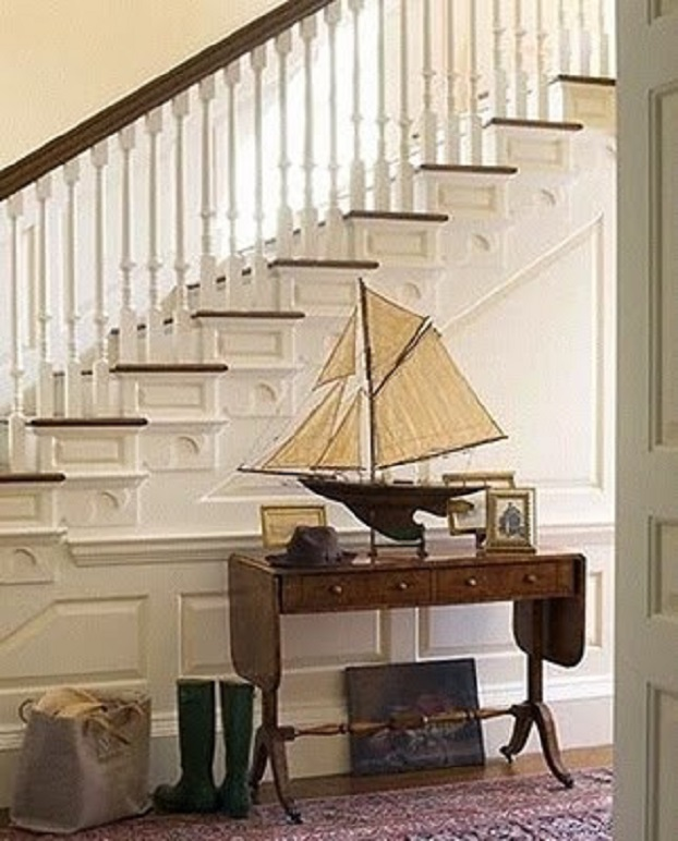 Model ships interior design nautical handcrafted decor blog for Decoration yacht