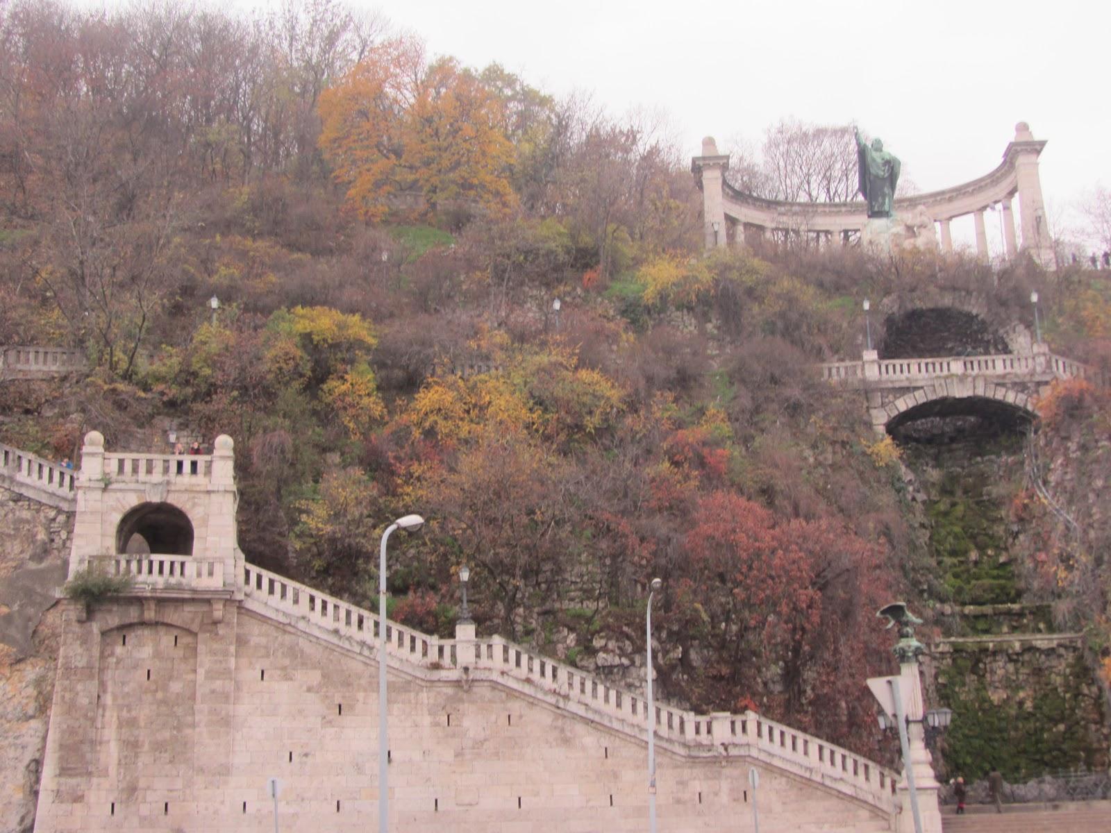 St. Gellért Monument Budapest