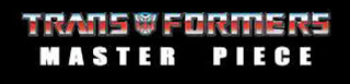 Tomy Takara Transformers Masterpiece Logo