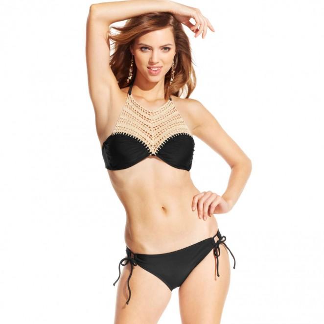 Macy's Swimwear Collection 2015 starring Veronice Zoppolo