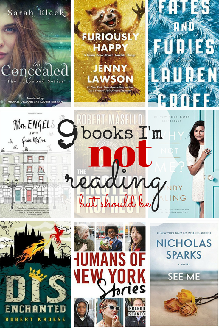 9 Books I'm NOT Reading in Book Club But Should Be Reading
