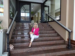 Escalinata del Gran Hotel Verona
