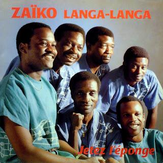 Zaïko Langa-Langa - Jetez l\'Éponge,Prozal  SIM\'s 1989