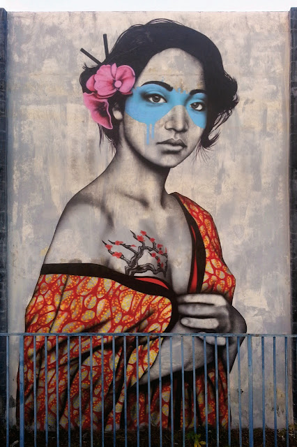 """Orinoko"" New Mural By Irish artist Fin DAC In Wynwood, Miami, Florida. 1"