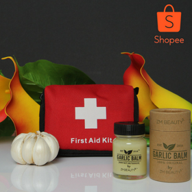FIRST AID KIT + GARLIC BALM VIRAL