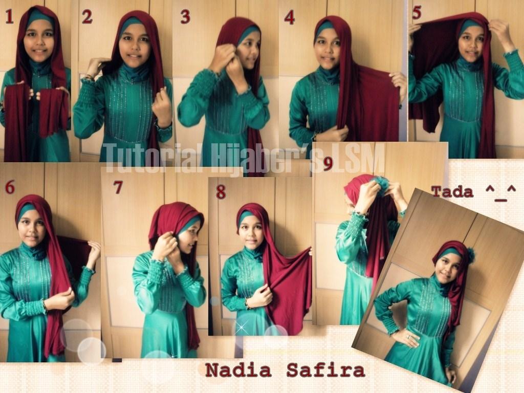 Tutorial Hijab Pashmina Natasha Farani Terbaru Obatbatukberdarah