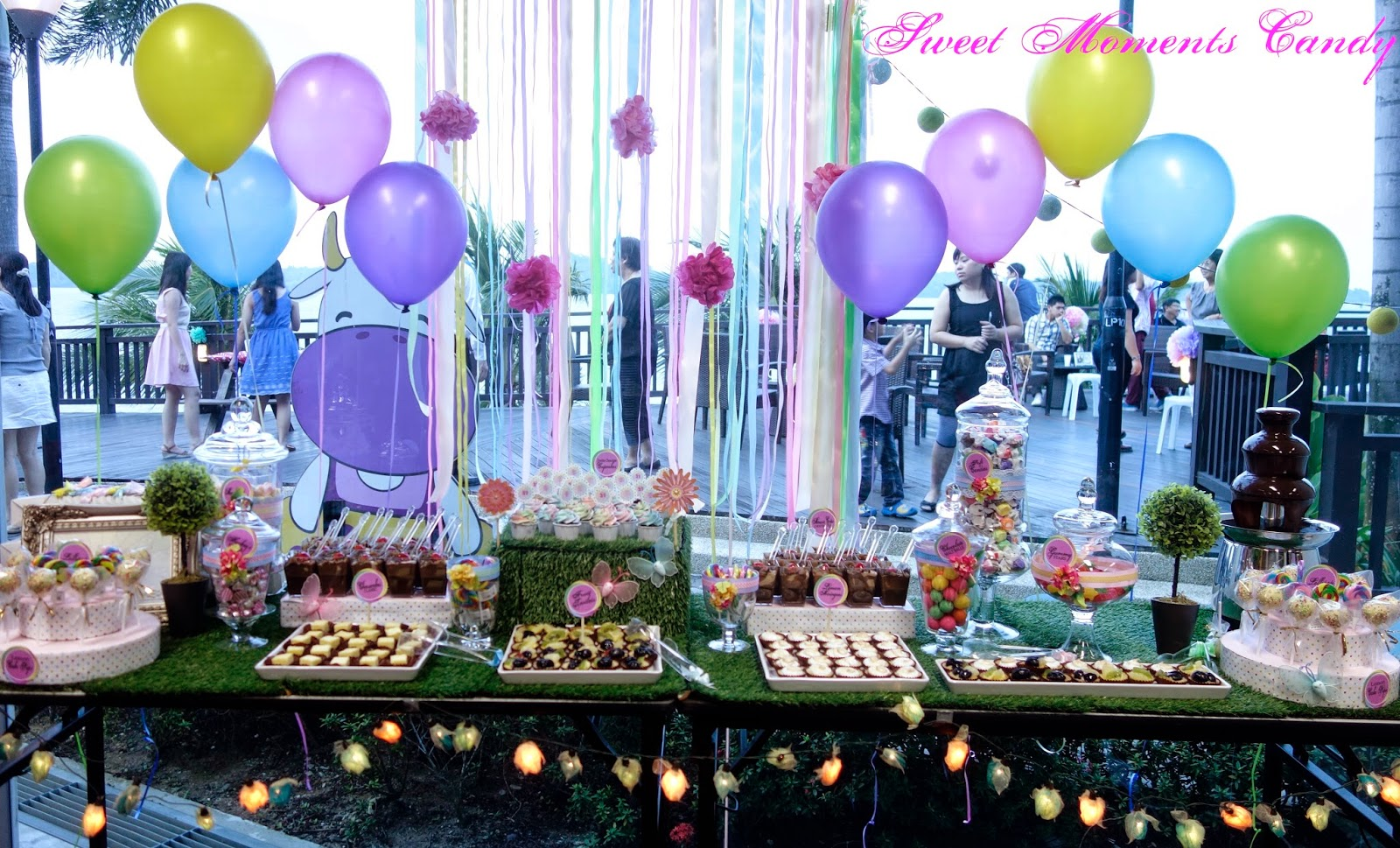 a reception to remember 21st rainbow themed birthday party
