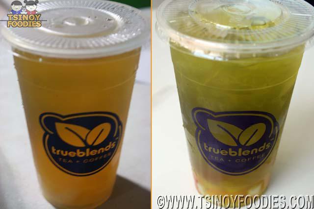 green tea blends the strip