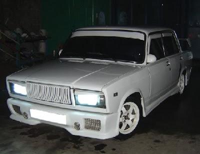 Тюнінг ВАЗ 2107 (фото)
