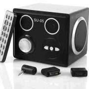 Loa MP3 thẻ nhớ - USB có remote điều khiển