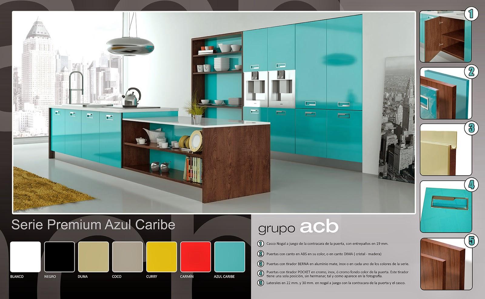 Nizam cocina y ba o azul el color de las nuevas tendencias for Cocinas nuevas tendencias