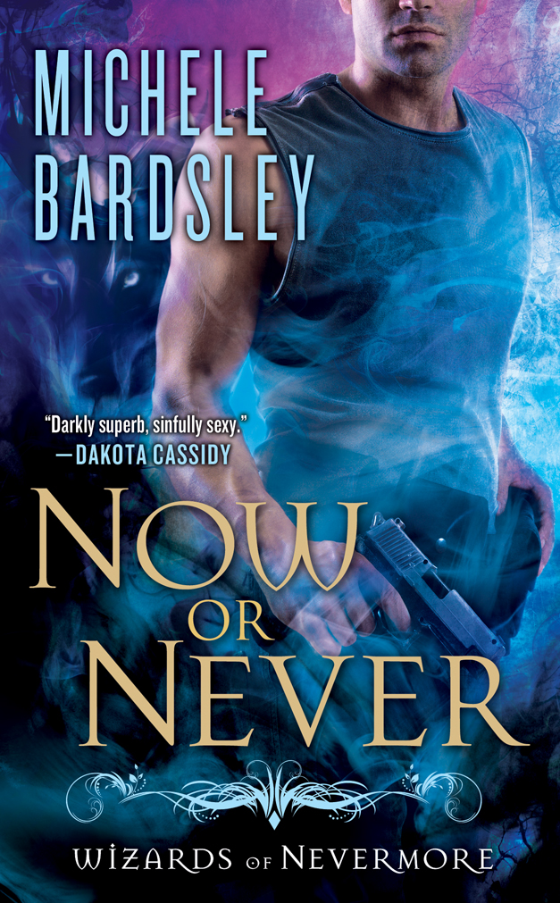 Now or Never is Book 2 in the Wizard of Nevermore series by Michele Bardsley.