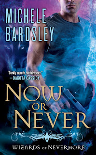 Now or Never is the second book in the Wizards of Nevermore series by Michele Bardsley