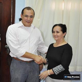 Prefeita Belezinha e o Secretário Jose Antônio Heluy / Chapadinha BLOG