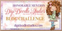 Honorable Mention at Digi Doodle Studios