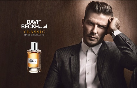 David Beckham Classic Fragrance Campaign ad