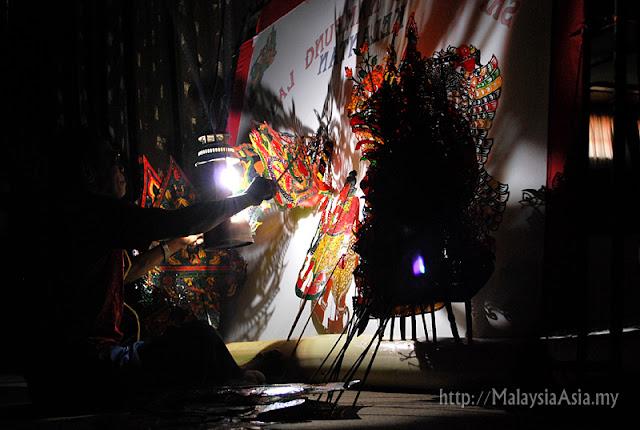 Wayang Kulit Siam in Kelantan