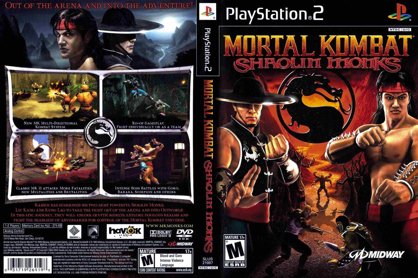 Mortal Kombat Armageddon Para Ps2