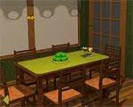 Green Living Room Escape Solucion