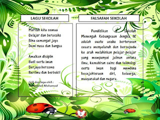 LAGU &amp; FALSAFAH SEKOLAH