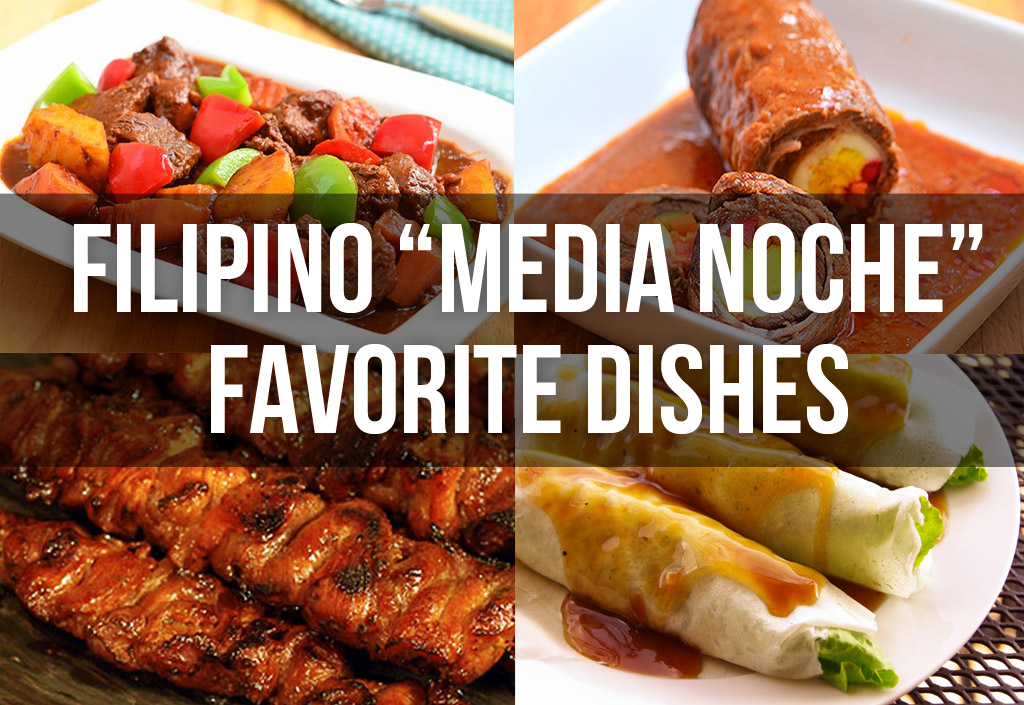 Top filipino media noche new years eve favorite dishes geeky pinas forumfinder Choice Image