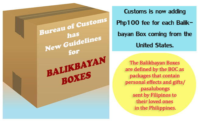 Bureau of Customs has New Guidelines for Balikbayan Boxes