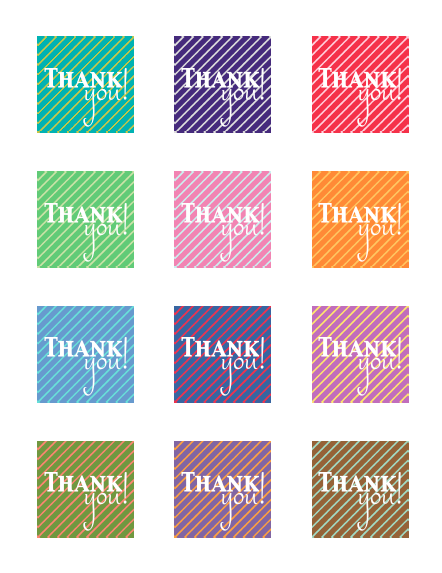 You can use these labels in tons of ways! The labels print with a ...