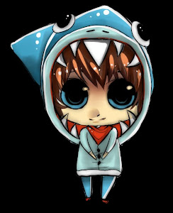 Chibi Anime Shark