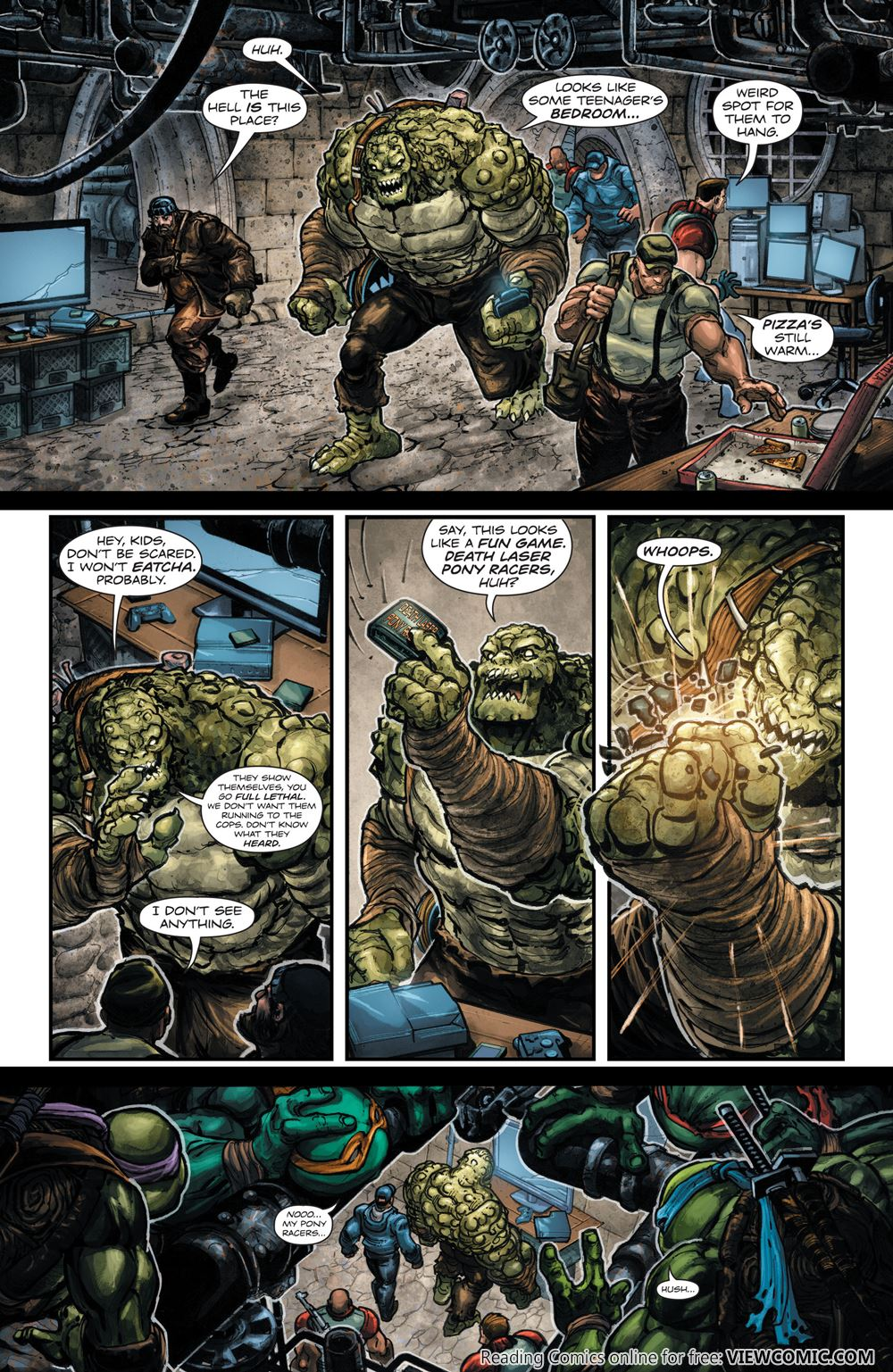 read comic batman u2013 teenage mutant ninja turtles batman