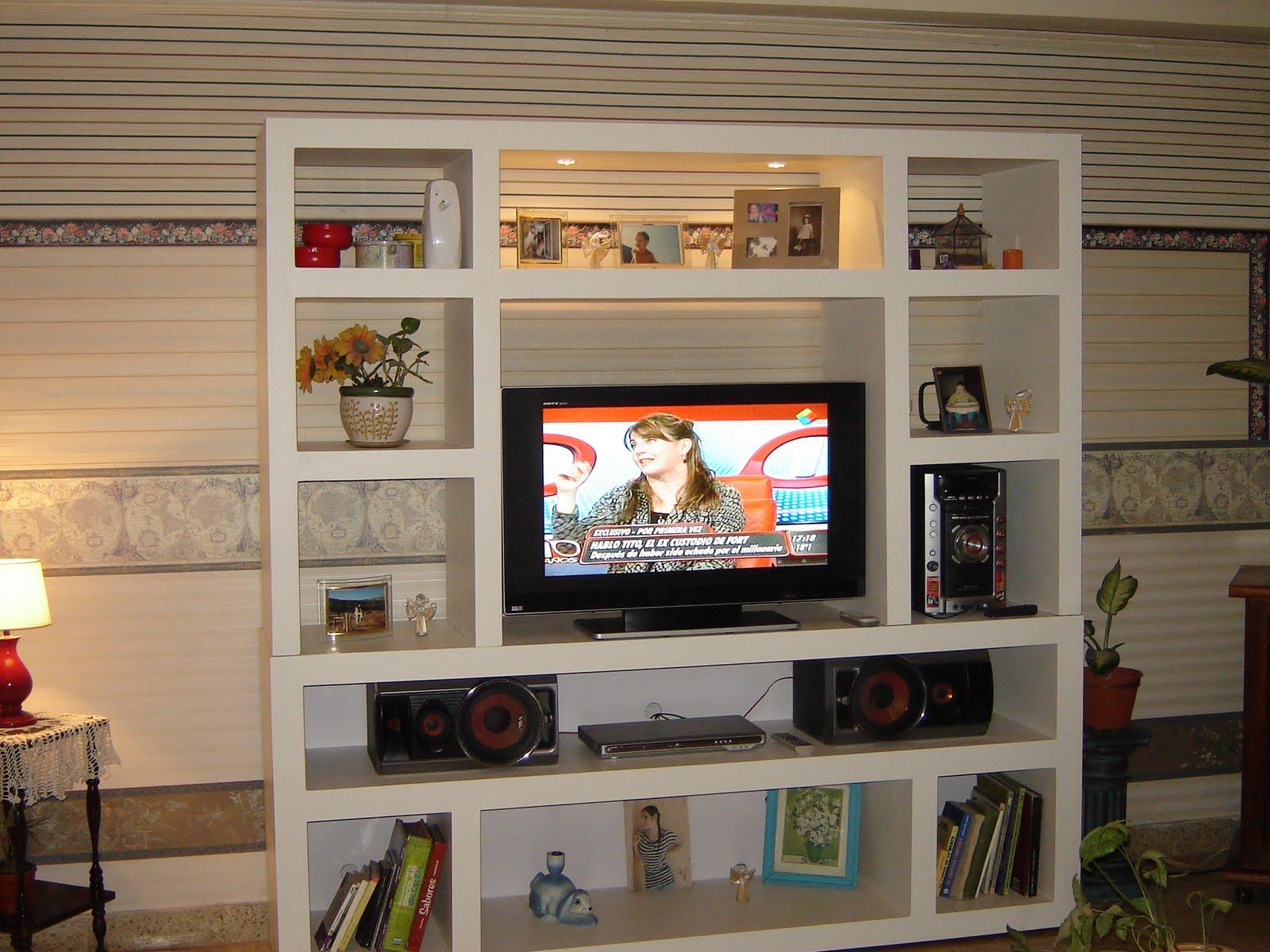 Imagenes de muebles para tv de tablaroca - Muebles para television ...