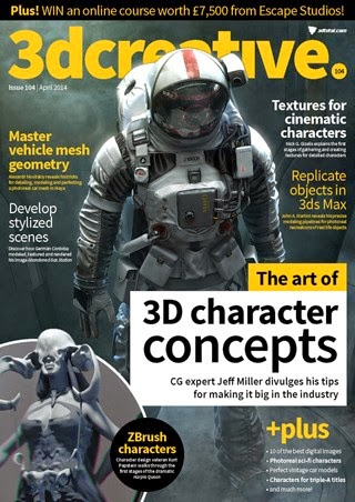 3D Creative Magazine Issue 104 April 2014