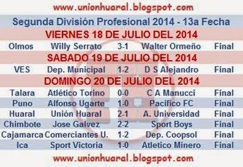 segunda division profesional 2014