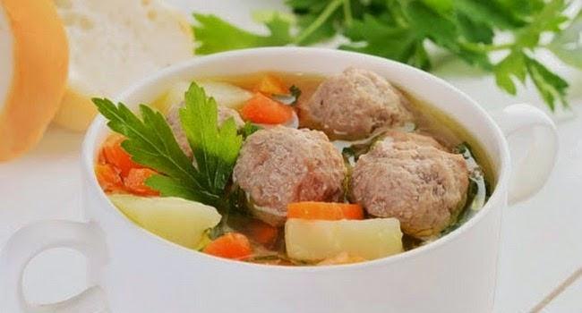 Resep Memasak Sup Bakso Sayuran