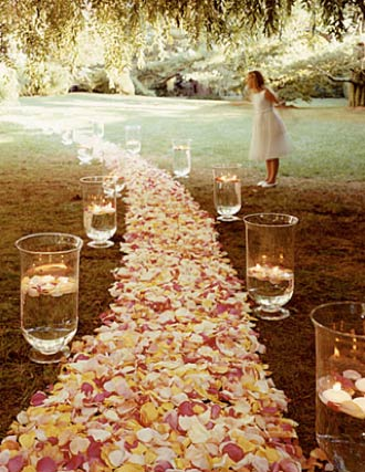 Outdoors Wedding