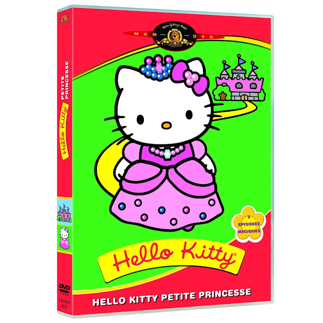 DVD Hello kitty : Petite princesse