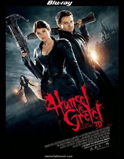 Hansel & Gretel: Witch Hunters - Hansel ve Gretel: Cadı Avcıları (2013) afis