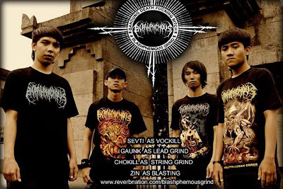 Blashphemous band Death Metal Bandung Foto Personil Logo Fonts Wallpaper