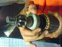 Pemeriksaan Starter Clutch dan Pinion Gear