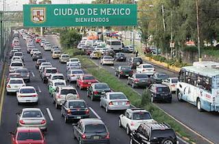 En Ciudad de México, una de las urbes con peor tráfico del mundo