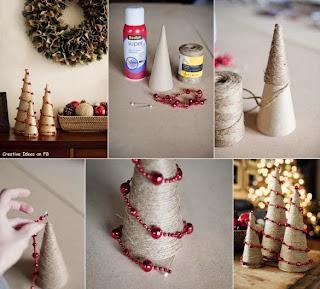 Làm đồ trang trí giáng sinh handmade